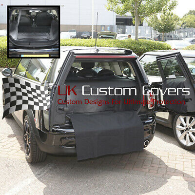Mini Clubman Floor Removed Tailored Boot Liner Mat Dog Guard 2007 14
