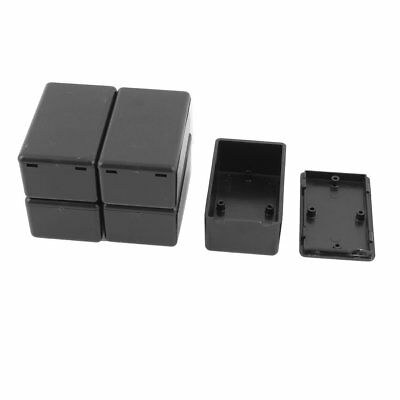 NEW 5 Pcs Junction Box Plastic Electric Project Case Enclosure Switch Waterproof