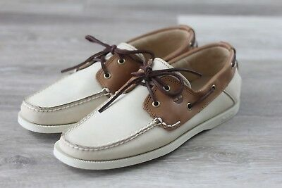 Timberland Men's 'Heritage Classic 2 Eye' - Oyster Boat / Deck Shoes - A13I1