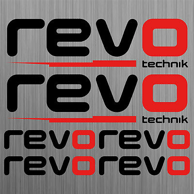 Revo Technik adesivi sticker decal auto set 6 Pezzi