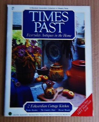 Times Past MagazineNo. 2 EDWARDIAN COTTAGE KITCHEN Biscuit Mould. Pottery. etc