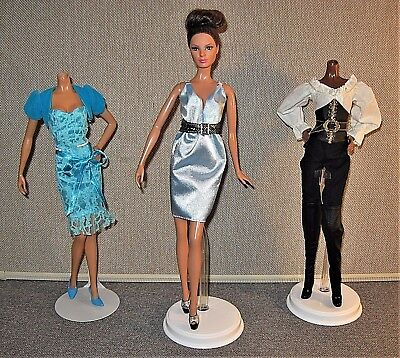 Barbie Model Muse Doll Clothes Lot ~ 3 Outfits with Shoes ~ VGUC!