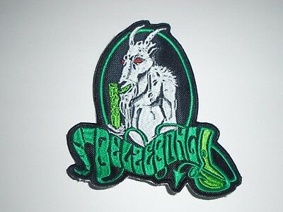 Belzebong Stoner/doom Metal Embroidered Patch