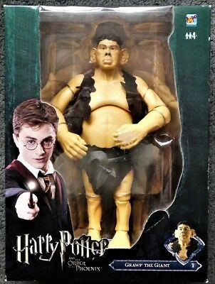 NEW IN BOX - Grawp The Giant Large Figure - Harry Potter Order Phoenix - Box
