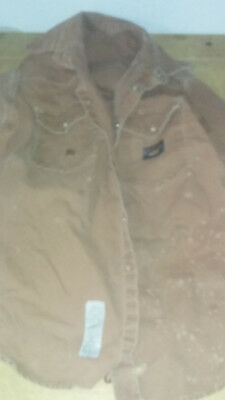 Traditional FR Cloth Welders Welding Jacket Size Large