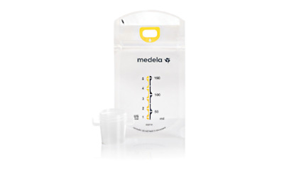 Medela - Pump & Save Breastmilk Bags w/ Easy-Connect Adapter, 20-Pack. #87233