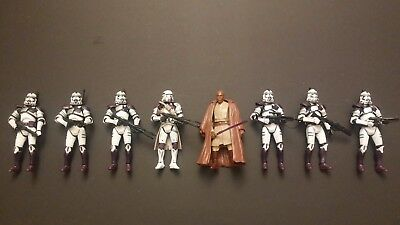 Hasbro STAR WARS The 187th Battalion Mace Windu Clone Troopers