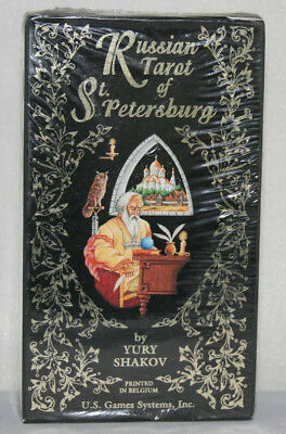 Russian Tarot of St Petersburg by Yury Shak_ 78 Cards_U.S GAMES SYSTEMS USA 1991