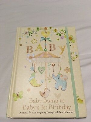 Bnwot, Baby Journal - Bump To First Birthday