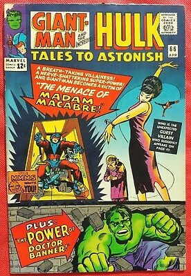 Tales to Astonish 66 Marvel Silver Age 1965 Madame Macabre