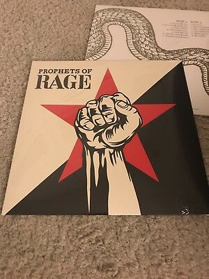 Prophets of Rage Vinyl new Unplayed LP Rage against the machine Cypress Hill