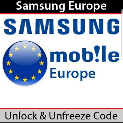 Unlock Code For Samsung Europe Limited Country. Read In Description.