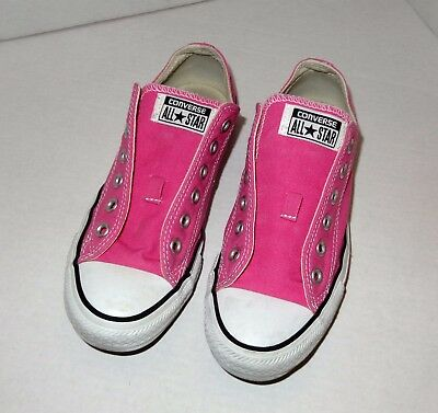 Converse  All Star Low PINK Canvas Sneaker - Women's Size 7