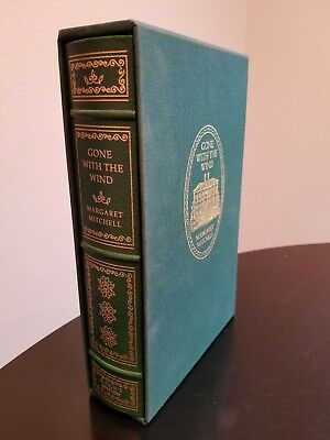 Gone with the Wind Patron's Edition Franklin Library Margaret Mitchell LIKE NEW