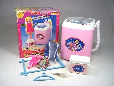 1995 Sailor Moon Washing Machine Washer Vintage Bandai Toy For Dolls Or Figures