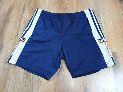 Vintage Adidas Poppers Shorts Rare Size 32 D176 (N190)