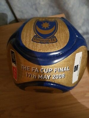 Portsmouth FC FA cup final 2008 football