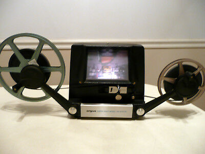 Argus 768 8 mm Movie Film Super 8 Editor And Splicer, Very Good Working Cond