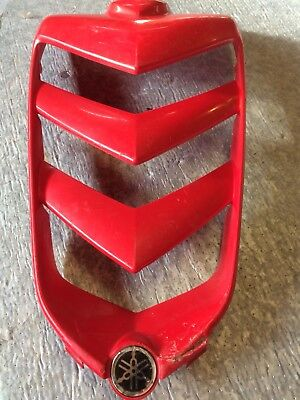 YAMAHA RAPTOR 660 Front Hood Plastic Nose Grill Red YFM 660R S1
