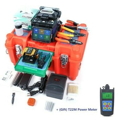 Fusion Splicer Orientek T45 Splicing Machine Core Alignment 7s Splice Free Ship