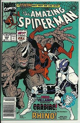 Marvel The Amazing Spider-man Feb # 344. condition Shown.