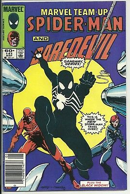 Marvel Spider-man and Daredevil. May # 141. Codition as shown.
