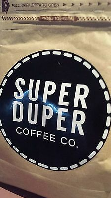 Coffee beans 100% ARABICA 250g Super Duper Coffee co Ground on order