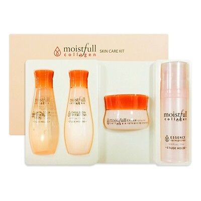 [ETUDE HOUSE_SP] Moistfull Collagen Skin Care Kit  1pack(4ea) / Korea Cosmetic