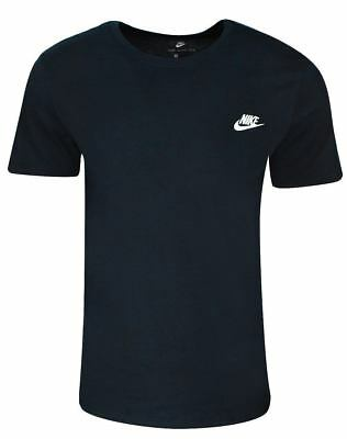 detailed look aae19 52818 Nike Mens Futura Short Sleeve Shirt Black Shirt small s sm NIP