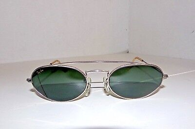 Vintage Ray Ban Bausch & Lomb Oval  Fugitives Modified Sunglasses