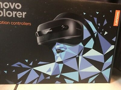 Lenovo Explorer Windows Mixed Virtual Reality VR Headset with Motion Controllers