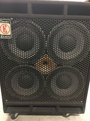 David Eden D410XLT BASS Speaker Cabinet Box with Tweeter EMAIL FOR POSTAGE QUOTE