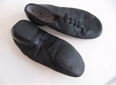 Energetiks Black Jazz Shoes With Elastic, Size 4