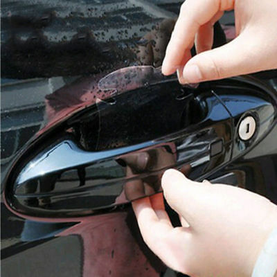 20Pcs Universal Car Invisible Films Sticker Door Handle Protector Anti-scrach