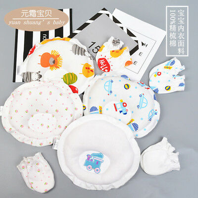 HOT Printing Pillow Newborn Infant Baby Pad Prevent Flat Head Sleep Positioner
