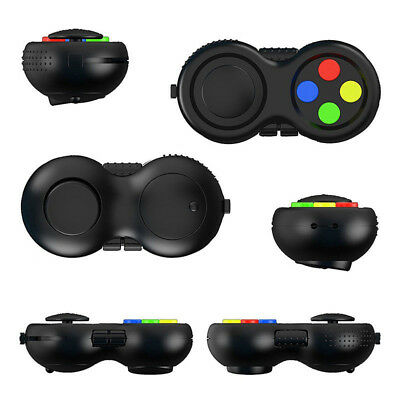 Fidget Pad Toy Hand Stress Anxiety Shank Adhd Cube Relief Edc Desk Anti Autism