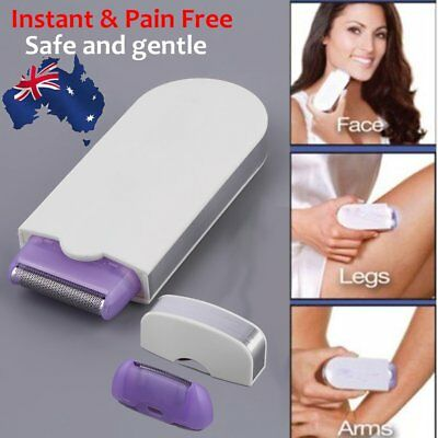 Women Painless Hair Remover Induction Touch Body Face Instant & Pain Free AU