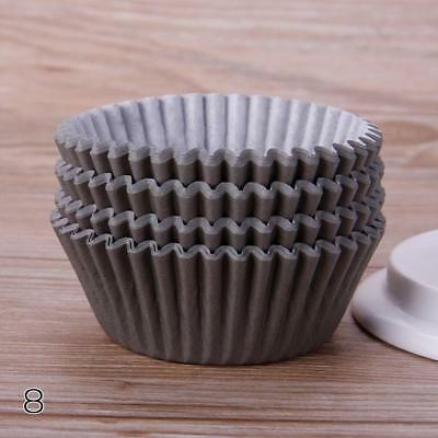 Coffee 100PCS Mini Paper Cupcake Case Wrapper Muffin Baking Cups QW