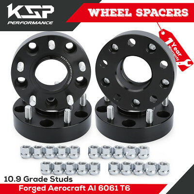1.5'' Wheel Spacer Adapters 5X5.5 M14x1.5 Threads 77.8mm CB Fit Dodge Ram 1500