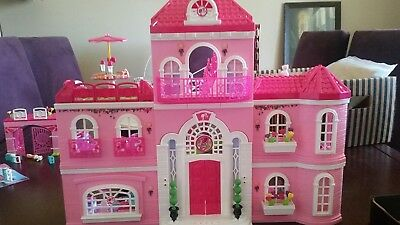 LEGO Barbie Luxury Mansion, Pets, Car 3 x Complete Sets & Instructions
