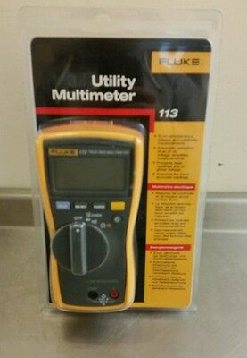 Fluke True RMS Utility Meter VCHEK LoZ Low Impedance Measurement Digital 113 (V)