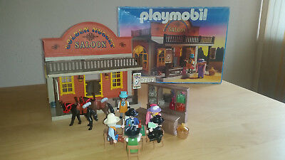Playmobil 3787 Saloon Golden Nugget Western in OVP