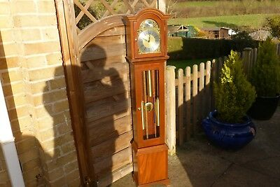 A Fenclock of Suffolk Grandmother/ longcase clock with Westminster chimes.