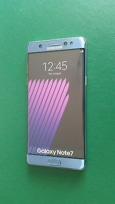 Samsung Galaxy Note 7 in Blue Coral Handy Dummy Attrappe - Ausstellung, Muster
