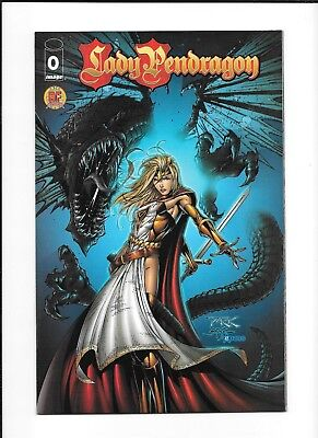 Lady Pendragon #0 Dynamic Forces (9.0) Limited 5000