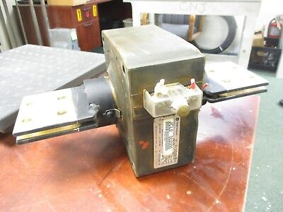GE Type JCL-0 Current Transformer 750X28G15 Ratio 2000:5A 10KV BIL 50-60Hz Used