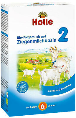 Holle Organic Goat Milk Baby Formula - Stage2 - 6 Pack - FREE Shipping