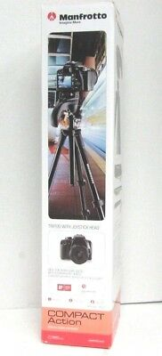 Manfrotto MKCOMPACTACN-BK Compact Action Tripod Black #103
