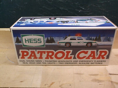 Hess 1993 Patrol Car With Lights & Siren