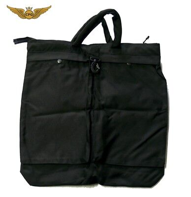 "Flyers, Flight, Aviation, Pilot Helmet Bag - Black (20"" x 20"")"